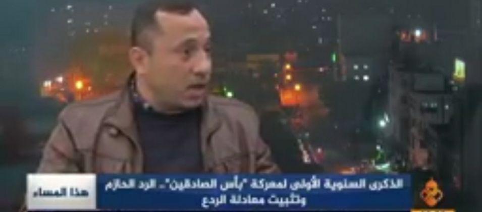 الدكتور شريف الحلبي للقدس اليوم: سرايا القدس ثبَّتت معادلات النار بالنار في معركة بأس الصادقين