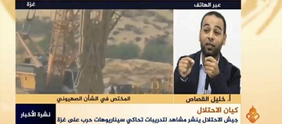 خليل القصاص للقدس اليوم: الاحتلال قد يفاجئ المقاومة بعدوان جديد على غزة