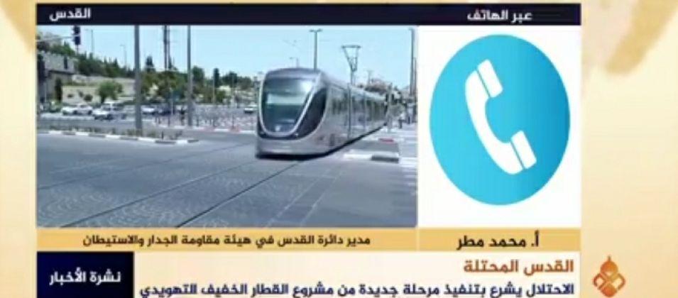 محمد مطر للقدس اليوم: الاحتلال يسعى لتغيير الطابع الديمغرافي والتاريخي لمدينة القدس