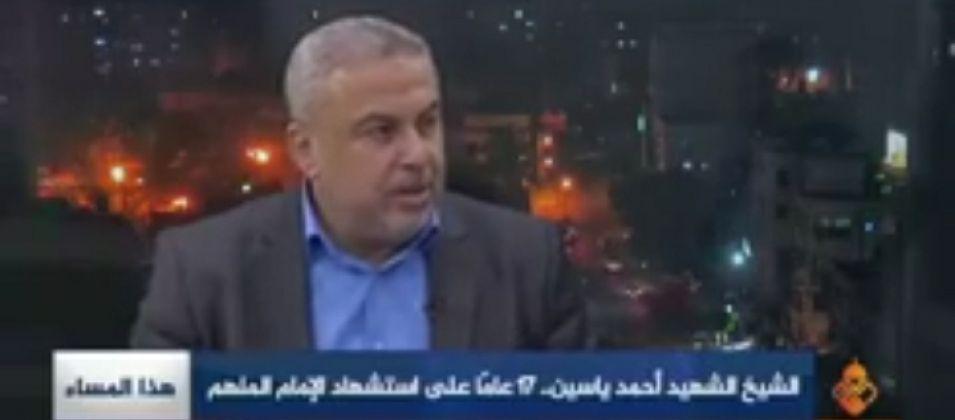 د.رضوان للقدس اليوم: سنسير على درب الشيخ الياسين ونحافظ على الثوابت الفلسطينية