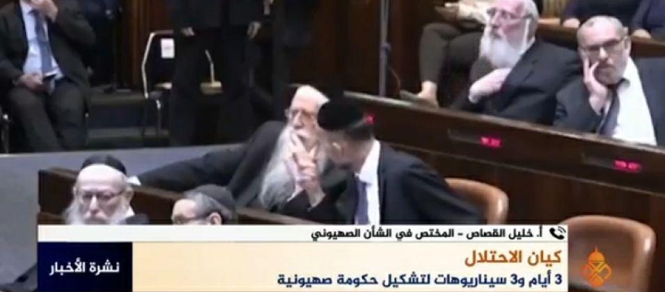 خليل القصاص للقدس اليوم: الوسط الصهيوني ما زال في حالة من الضبابية بسبب عدم تشكيل حكومة