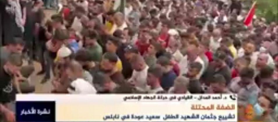 القيادي المدلل للقدس اليوم: انتفاضة الشعب الفلسطيني تؤكد أن جرائم الاحتلال لن تمر مرور الكرام