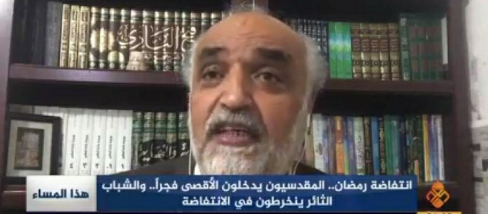 د. جمال عمرو للقدس اليوم: ثبات الشباب الفلسطيني وصمودهم في القدس هو استعادة للمكانة المفقودة