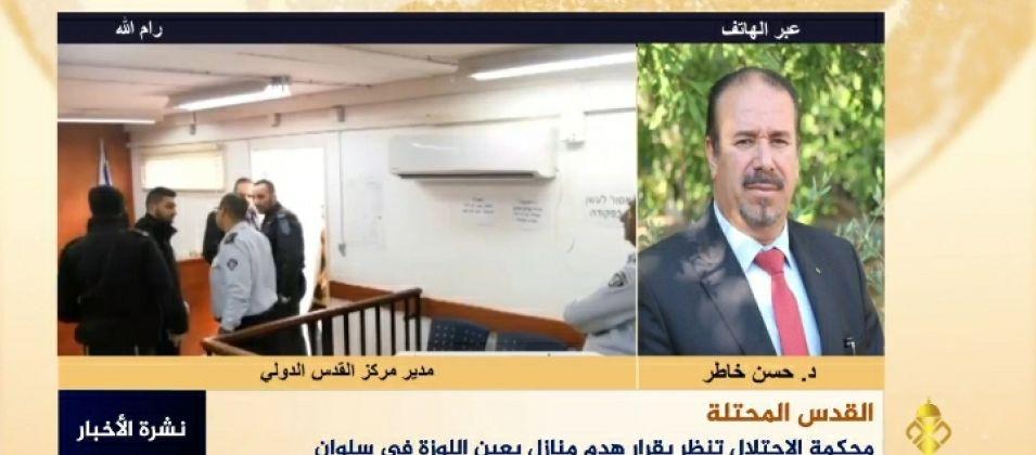 د.حسن خاطر للقدس اليوم: الموقف الشعبي الفلسطيني سجل انتصاراً كبيرا على العدو الصهيوني