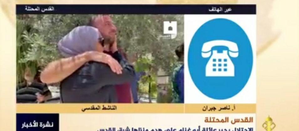 الناشط ناصر جبران للقدس اليوم: الاحتلال يهدف إلى إبلاغ الشباب بأن لا مستقبل لهم في القدس من خلال عمليات الهدم المتكررة