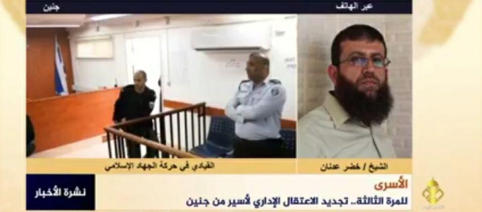 خضر عدنان للقدس اليوم: الاحتلال يحاول كسر إرادة الأسرى مستمراً بسياسته التعسفية بحقهم