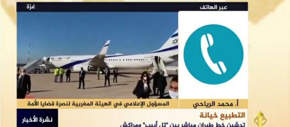 محمد الرياحي للقدس اليوم: تدشين خط الكيران مع الاحتلال خطوة مستهترة ومرفوضة من قبل الشعب المغربي