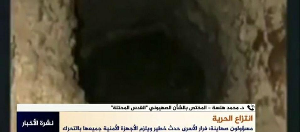 د.هلسة للقدس اليوم: هروب الأسرى من السجون وانتزاعهم لحريتهم أحدث ضربة في عمق الأمن الصهيوني