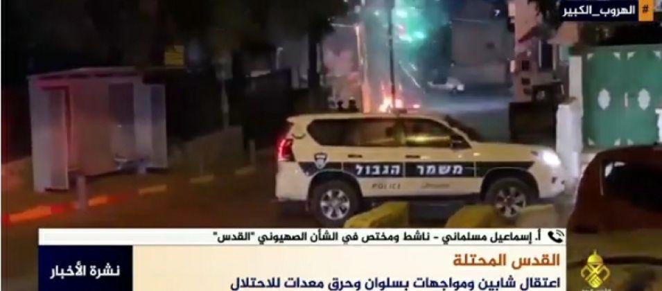 مسلماني للقدس اليوم: قوات الاحتلال تعتقل شابين في منطقة باب العامود
